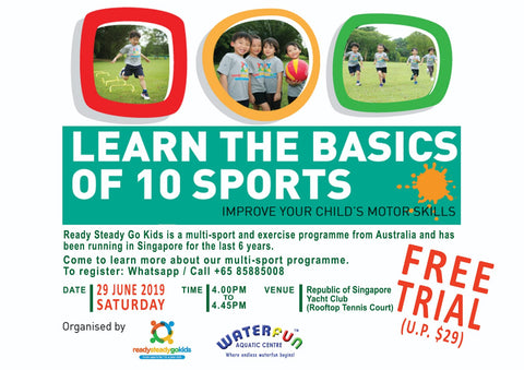 Free Multi-sports Trial - Ready Steady Go Kids