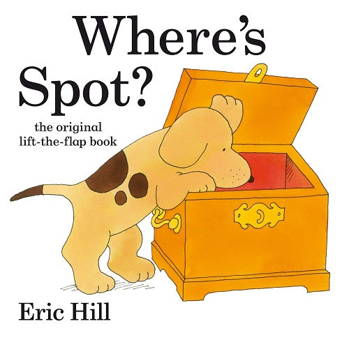 Children's Books to Read with Your Toddlers - Where's Spot