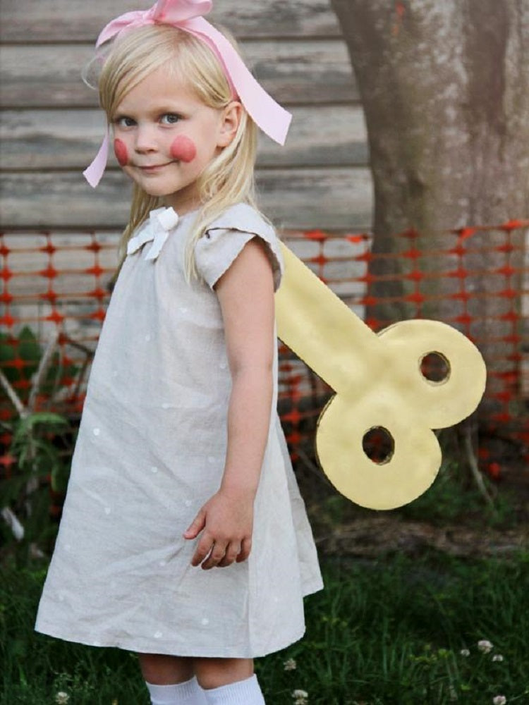 Easy and Creative Halloween Costume Ideas for Kids Better Than Buying - Wind-up Doll