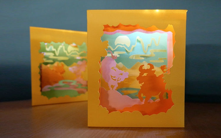 Workshop_Paper-cutting Decorative Light Box