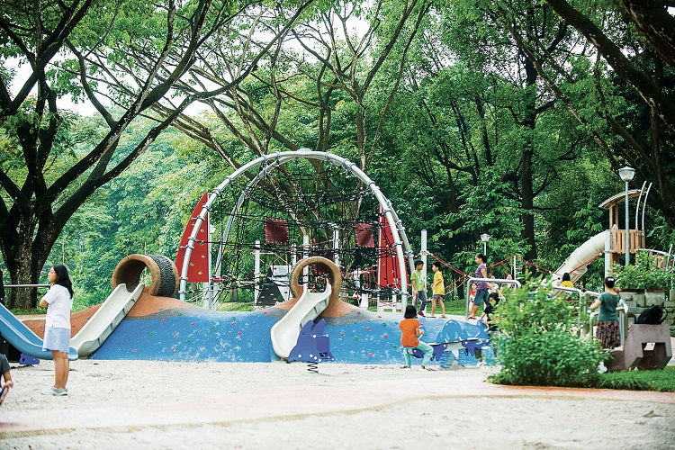 Free Outdoor Playgrounds in the North - Yishun Park