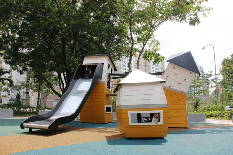 Free Outdoor Playgrounds in the North - Yishun River Green