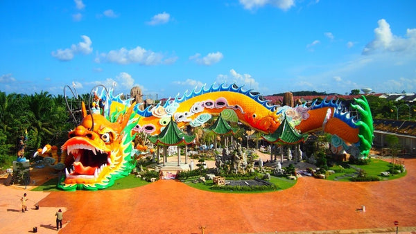 5 Towns and Districts to Visit with Your Kids in Johor  - Yong Peng Fortune Dragon