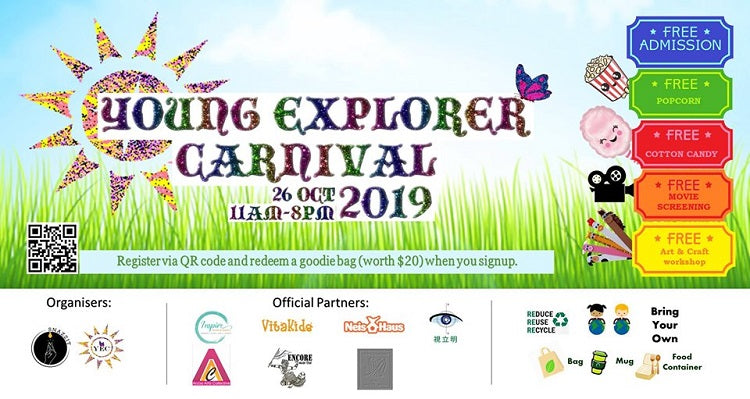 Register Early for The Young Explorer Carnival