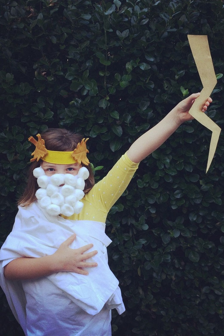 Easy and Creative Halloween Costume Ideas for Kids Better Than Buying - Zeus