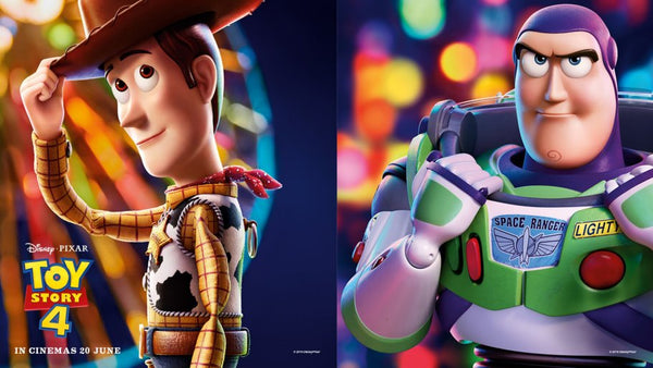 Woody and Buzz at Gardens by the Bay, Meet & Greet