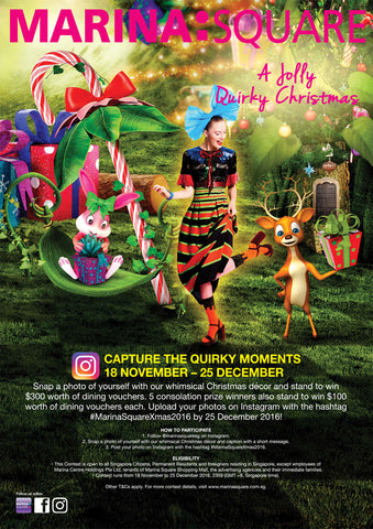 Marina Square Instagram Snap and Win Contest