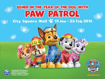 Paw Patrol @ City Square Mall Chinese New Year 2018