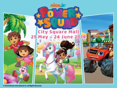 Things to do this Weekend: Make Merry with Nick Jr Power Squad @ City Square Mall with Your LOs!