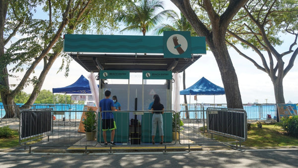 Step-by-Step Guide To Reserving Entry To Sentosa Beaches - Beach Entry Kiosk