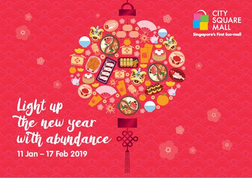 Light Up the New Year with Abundance @ City Square Mall