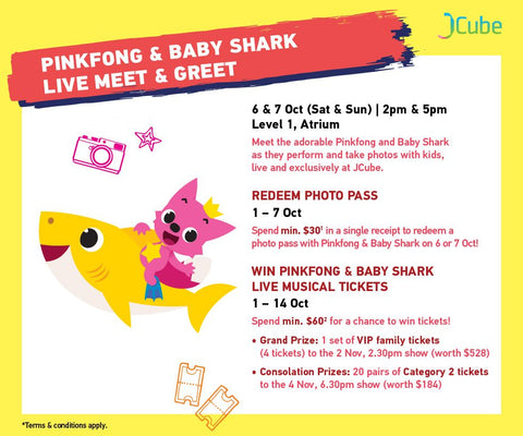 Pinkfong & Baby Shark Meet & Greet
