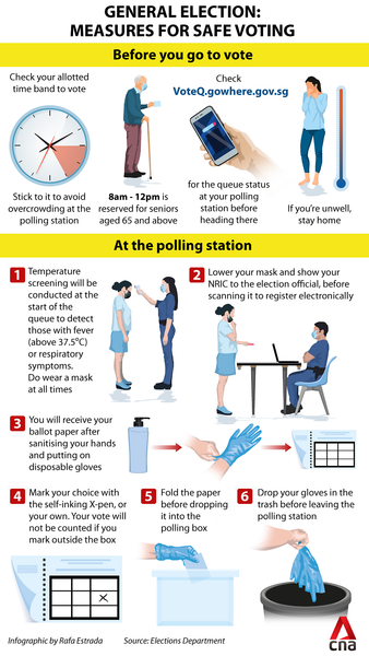 Polling Day - Safety Measures