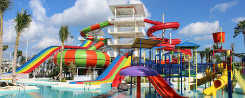 Splash Waterpark in Canggu, Bali