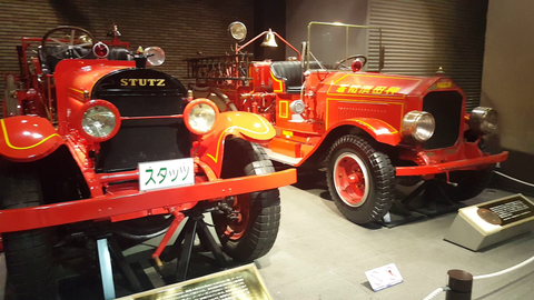 Fire Station Museum at Tokyo