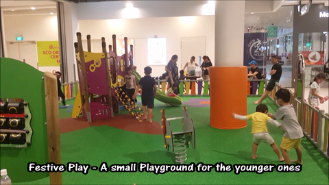 Festive Playground @ Our Tampines Hub