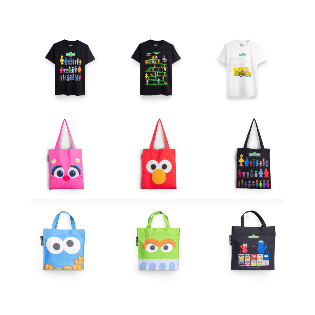 Sesame Street Apparels & T-Shirts: 20% Off Purchases (Family Fun 2019)