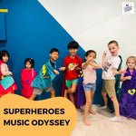 Music Holiday Camp: Superheros Music Odyssey @ $160