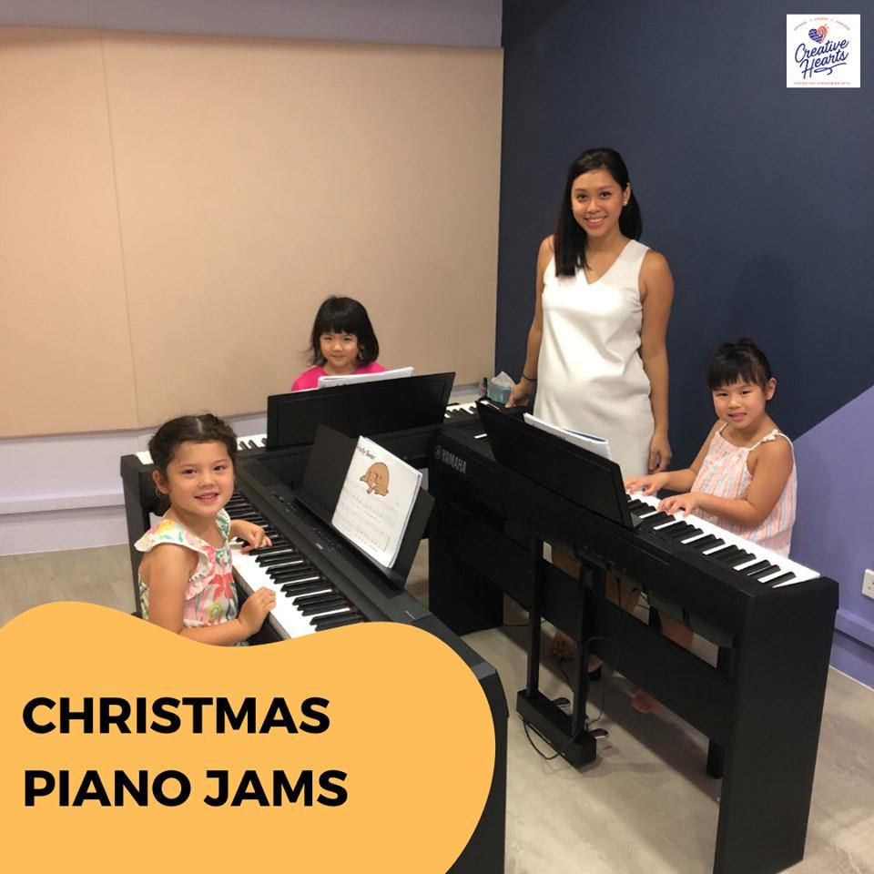 Music Holiday Camp: Christmas Piano Jams @ $190