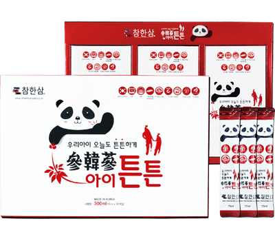 Chamhansam: Black Korean Ginseng For Kids With Pear And Mango Extract @ $85 (Delivery Inclusive)