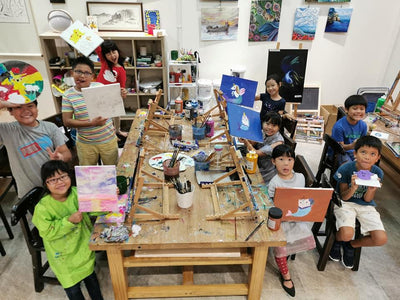 Our Art Studio: Art Camp from $110 (1 and 2 Day Options Available)