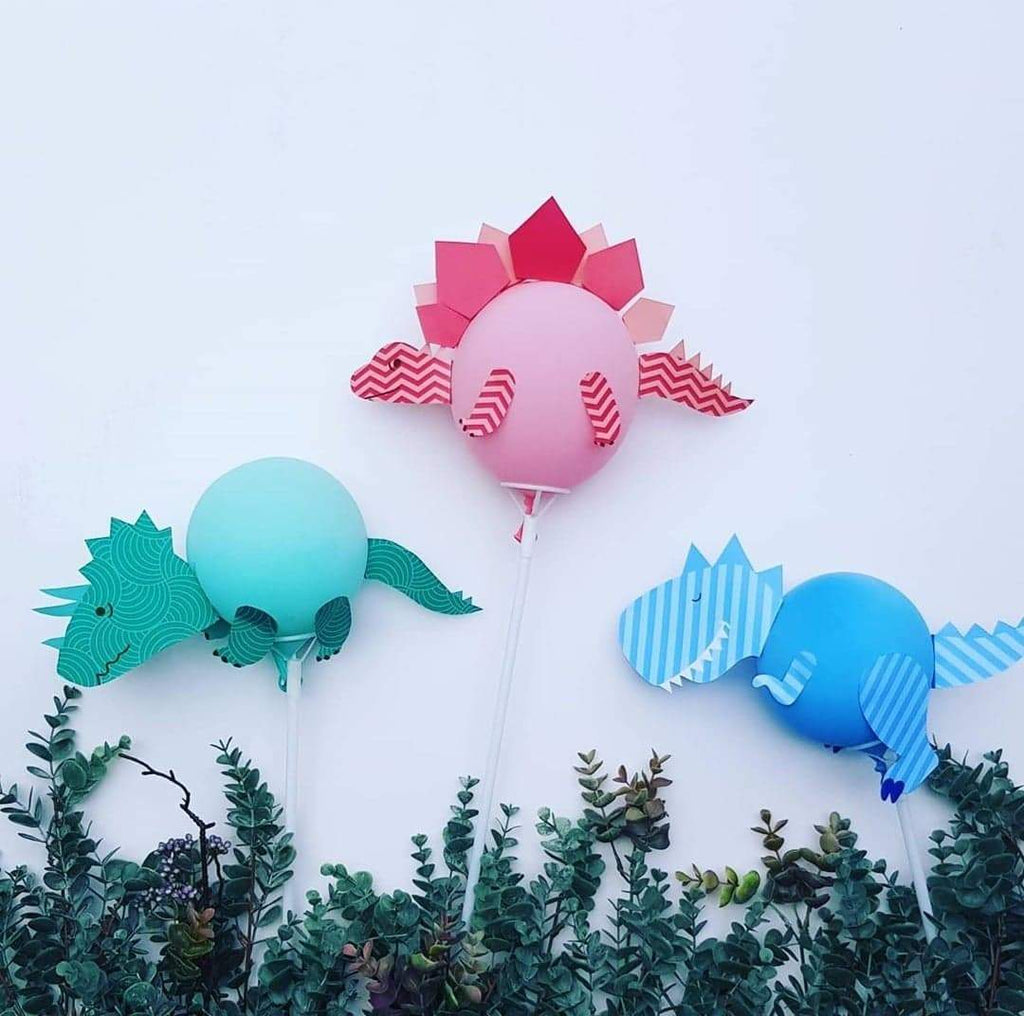 Tou Foo Foo - Dinosaur Balloon Craft Kit @ $20 (include delivery)