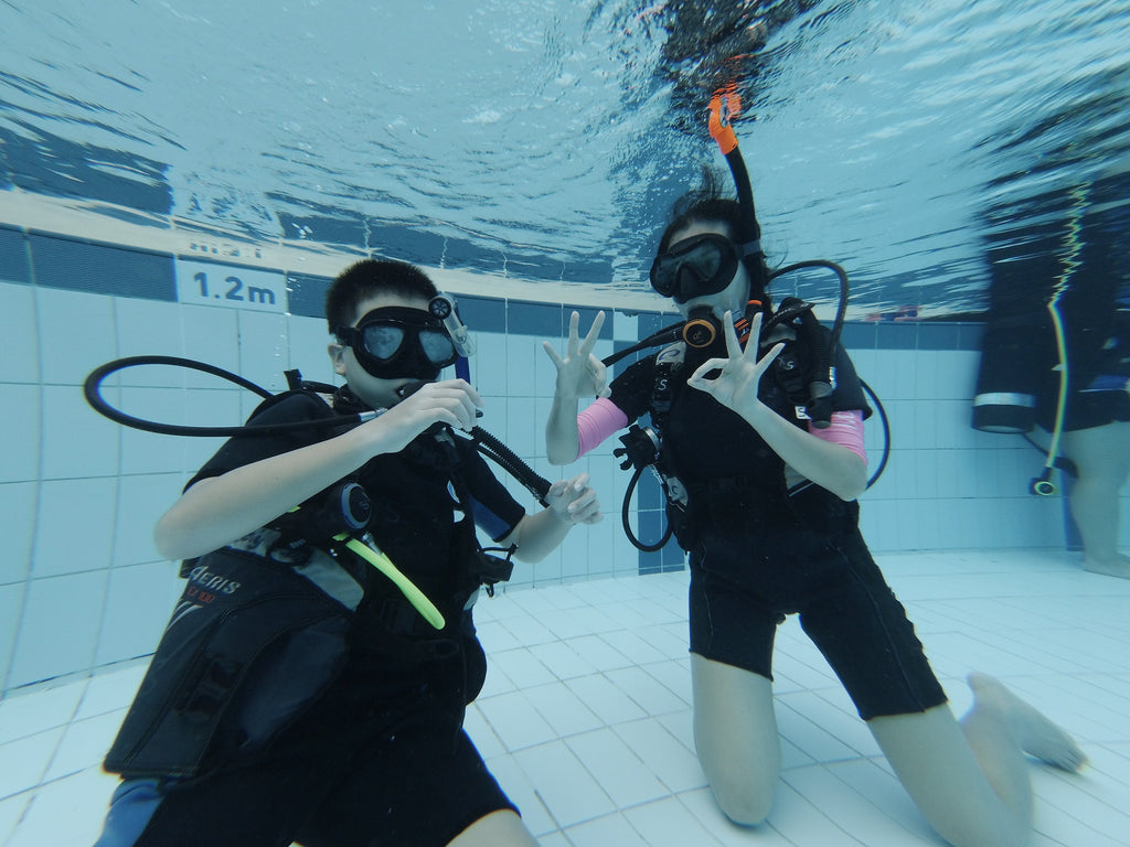 DiveDegree: $30 Off Dive Courses Per Pax for min. 2 Pax Booking (Family Fun 2019)