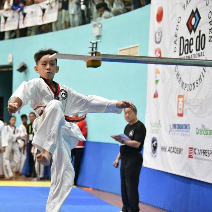 JH Kim Taekwondo Institute (Sengkang & Serangoon)- 2 Taekwondo Classes @ $5 - BYKidO