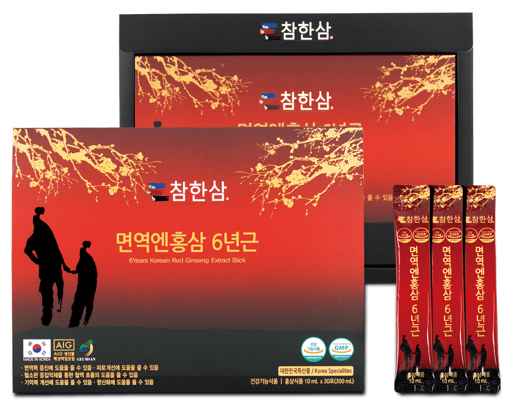 Chamhansam: 6 Years Old Korean Red Ginseng Extract @ $75 (Delivery Included) - BYKidO