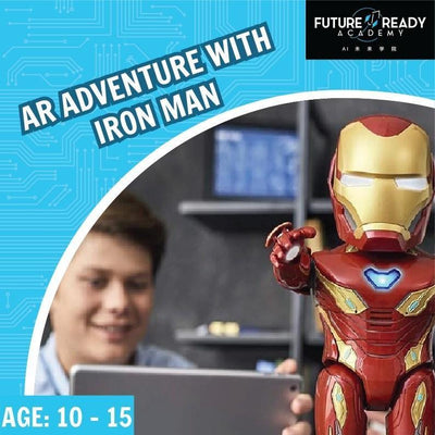 S.T.E.A.M PSLE Marking Week Camp: AR Adventure With Iron Man @ $118 (U.P. $158)