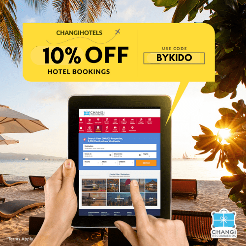 10% Off Hotel Bookings with Changi Recommends (Family Fun 2019)
