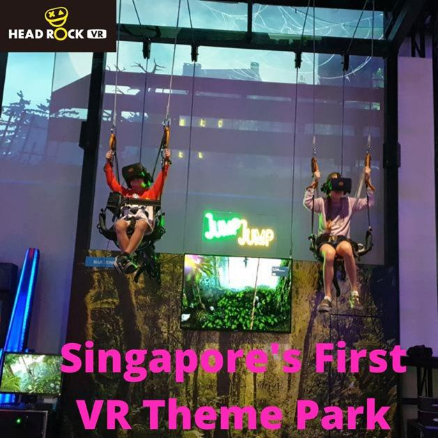 HeadRock VR: Big 5 Package For 1 Pax @ $42 (U.P $50)