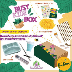 Kidz Treehouse: Bee Green Busy-Kidz Box @ $49.90 (Delivey Inclusive) - BYKidO