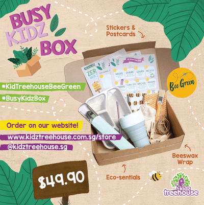 Kidz Treehouse: Bee Green Busy-Kidz Box @ $49.90 (Delivey Inclusive)