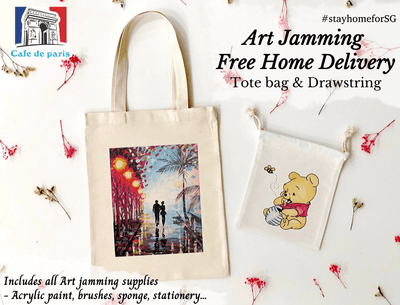 Cafe de Paris: 2 Art Jamming Sets @ $65 (U.P. $74)