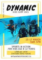 Kid's Adventure Holiday Camp: Dynamic Sports Camp @ $360