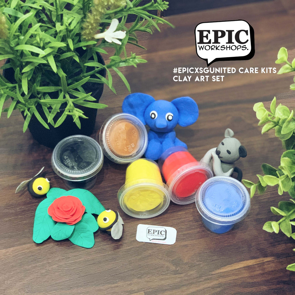 EPIC Workshops: Clay Experience Kit @$23