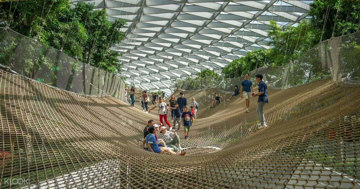 [Direct Entry] Jewel Changi Airport Attraction Tickets in Singapore - BYKidO