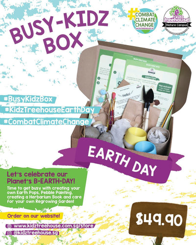 Kidz Treehouse: Earth Day Busy-Kidz Box from $49.90 (Delivery Inclusive)