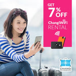 7% Off Wifi Rental with Changi Recommends (Family Fun 2019)
