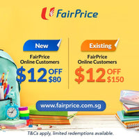 $12 Promo Code For NTUC FairPrice Online