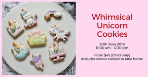 [Activity] Whimsical Unicorn Cookie Baking Workshop with Genius R Us
