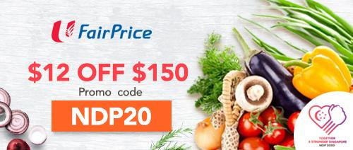NTUC Fairprice: $12 Off $150 at FairPrice Online - BYKidO