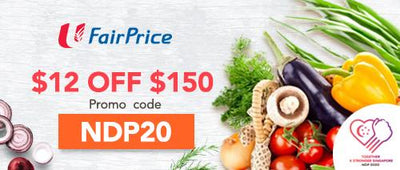 NTUC Fairprice: $12 Off $150 at FairPrice Online