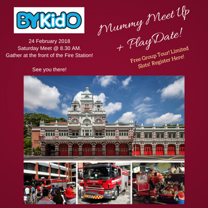 [Activity] Mummies Meetup: Fire Station Visit