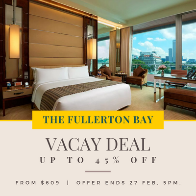 The Fullerton Bay Hotel Staycation Package