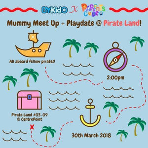 [Activity] Mummies Meetup: Bring Your Kids Out to PirateLand!