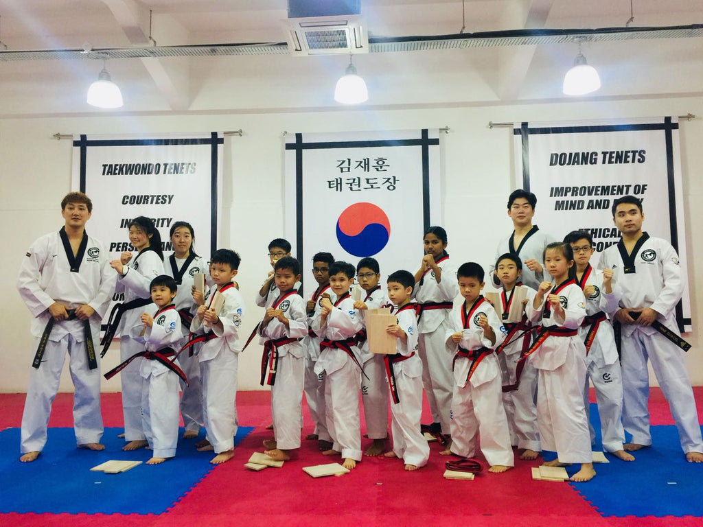 JH Kim Taekwondo Institute: Registration Fee Waiver with 1 Term Sign-Up eVoucher - BYKidO