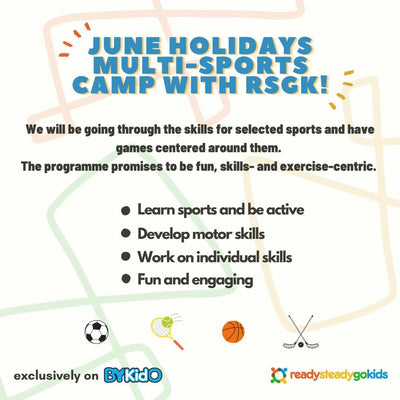 Ready Steady Go Kids - June Sports Holiday Camp (17 & 18 Jun), From Just $180