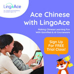 [FREE TRIAL] Ace Chinese with LingoAce: FREE Online Chinese Trial Class, worth $42!
